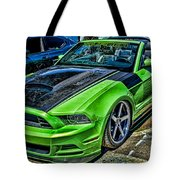 Truefiber Mustang Tote Bag