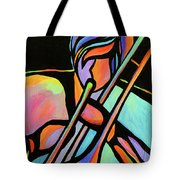 Trombonist Tote Bag