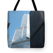 Trump Building From Other Side Tote Bag