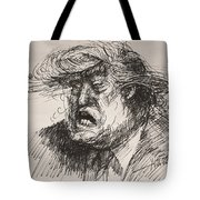 Trump Harmful Ignorant Tote Bag