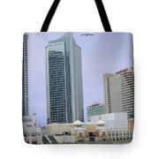 Trump Palace Tajmahal Hotel Atalantic Beaches And Board Walk America Photography By Navinjoshi At  Tote Bag