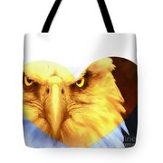 Trumped Gold On White Tote Bag