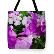 Trumpet Flower 2 Tote Bag