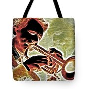 Trumpet Tote Bag by Stephen Younts