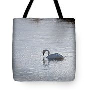 Trumpeter Swan Yellowstone Tote Bag