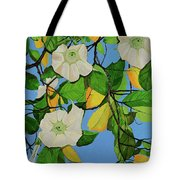 Trumpets In Paradise Tote Bag
