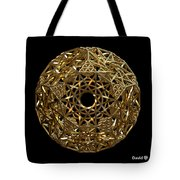 Truncated Hyper Dodecahedron Tote Bag