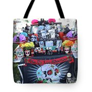 Trunk El Camino Day Dead  Tote Bag