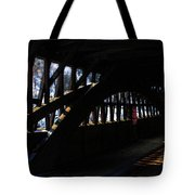 Trusses And Light  Tote Bag