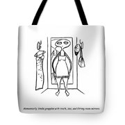 Truth And Lies Tote Bag