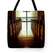 Truth And The Light  Tote Bag by Kim Loftis