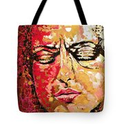 Truth Is Eternal, Asian Painting Tote Bag