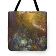 Truth Shall Spring Out Of The Earth And Righteousness Shall Look Down From Heaven Tote Bag