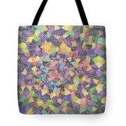 Try Angles Of Circles Tote Bag