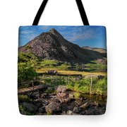 Tryfan Mountain Valley Tote Bag