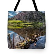 Tryfan Reflections Tote Bag
