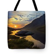 Tryfan Surnise Tote Bag