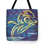 Trying New Waters Tote Bag