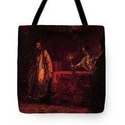 Tsar Boris And The Queen Martha Tote Bag