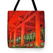 Tsuri-do-ro Or Hanging Lantern #0807-4 Tote Bag
