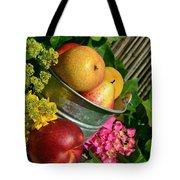Tub Of Apples Tote Bag