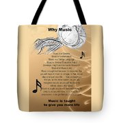 Tuba Why Music T-shirts Posters 4830.02 Tote Bag