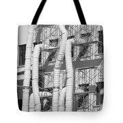 Tube Construction Tote Bag