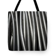 Tubular Abstract Art Number 11 Tote Bag