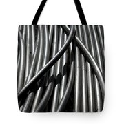 Tubular Abstract Art Number 13 Tote Bag