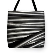 Tubular Abstract Art Number 2 Tote Bag