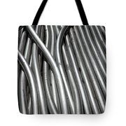 Tubular Abstract Art Number 3 Tote Bag
