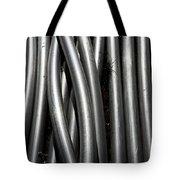 Tubular Abstract Art Number 4 Tote Bag