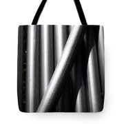 Tubular Abstract Art  Number 5 Shadow And Light  Tote Bag