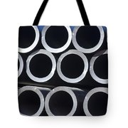 Tubular Abstract Art Number 6 Tote Bag