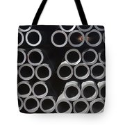 Tubular Abstract Art Number 9 Tote Bag