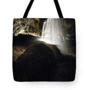 Tuckaleechee Cavern Waterfall Tote Bag
