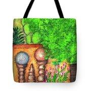 Tucson Garden Tote Bag by Kim Nelson