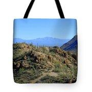 Tucson Mountain Ranges Tote Bag