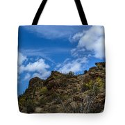 Tucson Mountains Tote Bag