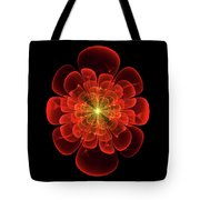 Tudor Rose - Abstract Tote Bag