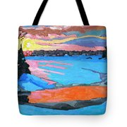 Tuesday Sunset Tote Bag
