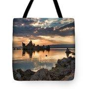 Tufa Sunrise Tote Bag