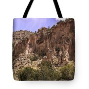 Tuff Cliffs Tote Bag