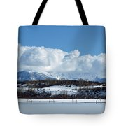 Tuff Over Baldy Tote Bag