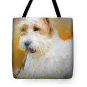 Tuffy The Russell Terrier Tote Bag