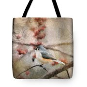 Tufted Titmouse 2 Tote Bag