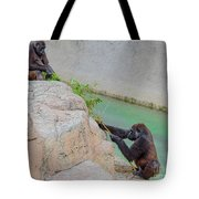 Tug-o-war Western Gorillas Tote Bag