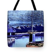 Tug Reflections Tote Bag