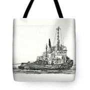 Tugboat David Foss Tote Bag