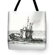 Tugboat Lela Foss Tote Bag
